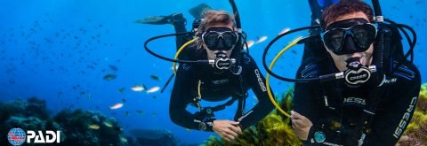 COURS D'INITIATION PADI OPEN WATER DIVER